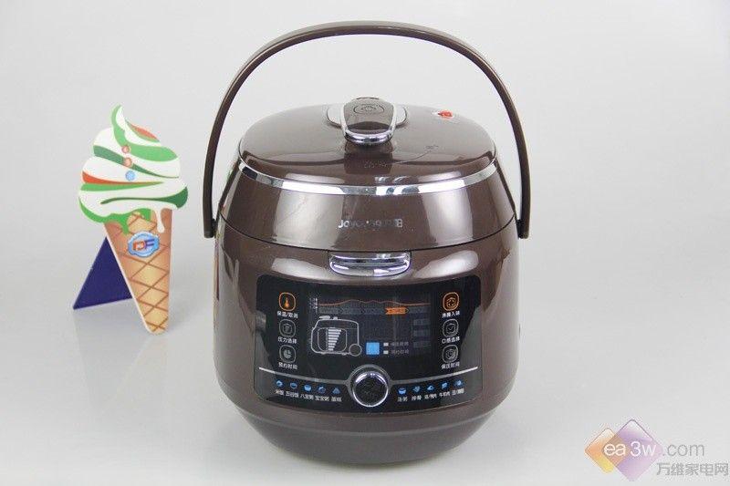 全球首款不喷气压力煲 九阳JYY-50K1美图赏析