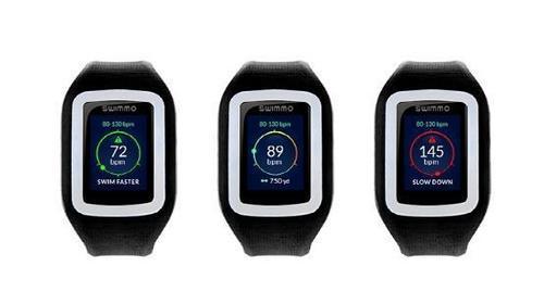 可追踪速度 专为游泳而生的智能手表