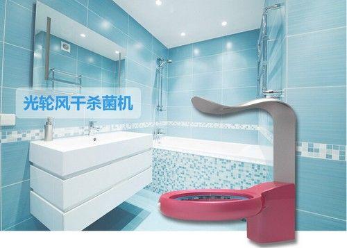 针对牙刷毛巾中的细菌 智能风干杀菌机