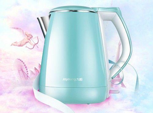 TiffanyQ双层保温 九阳新品热水壶特卖
