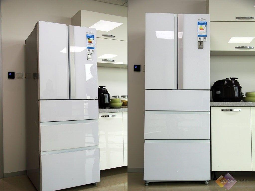 美的多门冰箱