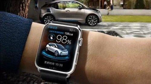 你可以用Apple Watch