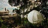 球形帐篷树屋 圆你儿时的一个梦