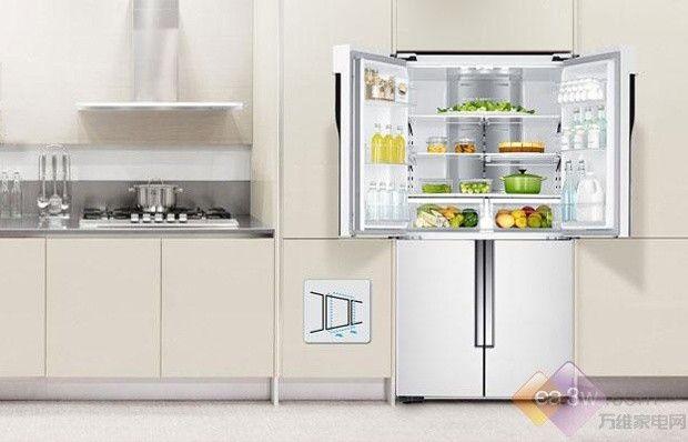 把冰箱设计到餐边柜