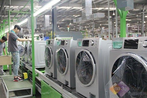 凭啥说能用10年?3分钟看透洗衣机出厂检验