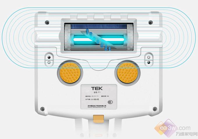 TEK一款不断电的除螨级无线吸尘器