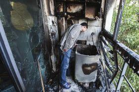 启动洗衣机后阳台起火了 到底谁的责任?