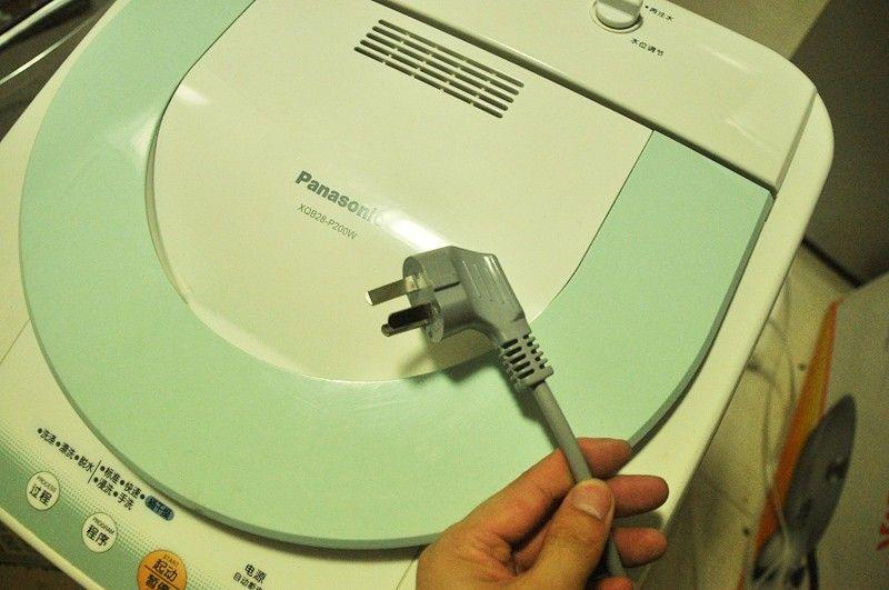 洗衣机安全常识:要使用独立插座