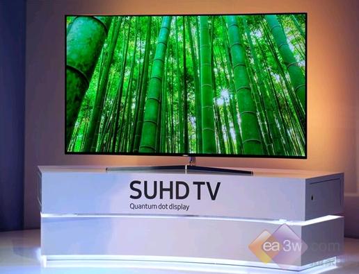 CES2016现场:三星发布新款SUHD量子点电视