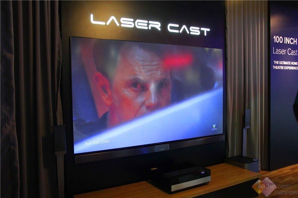 直击CES2016:海信百吋激光电视登场