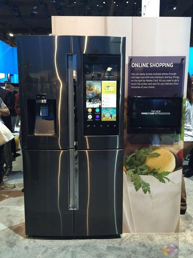 CES展智能冰箱大放异彩 能吃能看还能玩