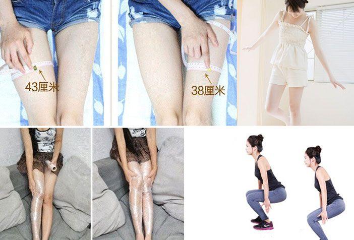 怎样才能瘦腿?女生标准腿型是怎样的?