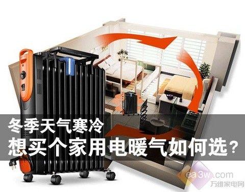 冬季天气寒冷,想买个家用电暖气如何选?