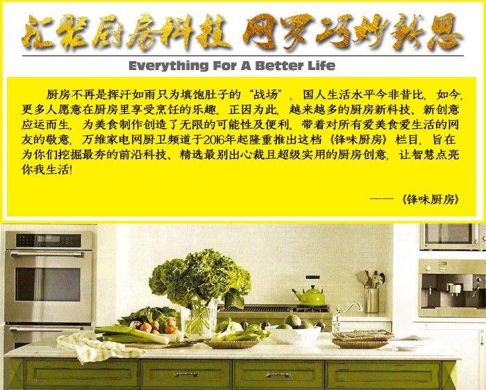 """锋味厨房:电器or艺术品?高颜值制冰""""神器""""我只服它"""