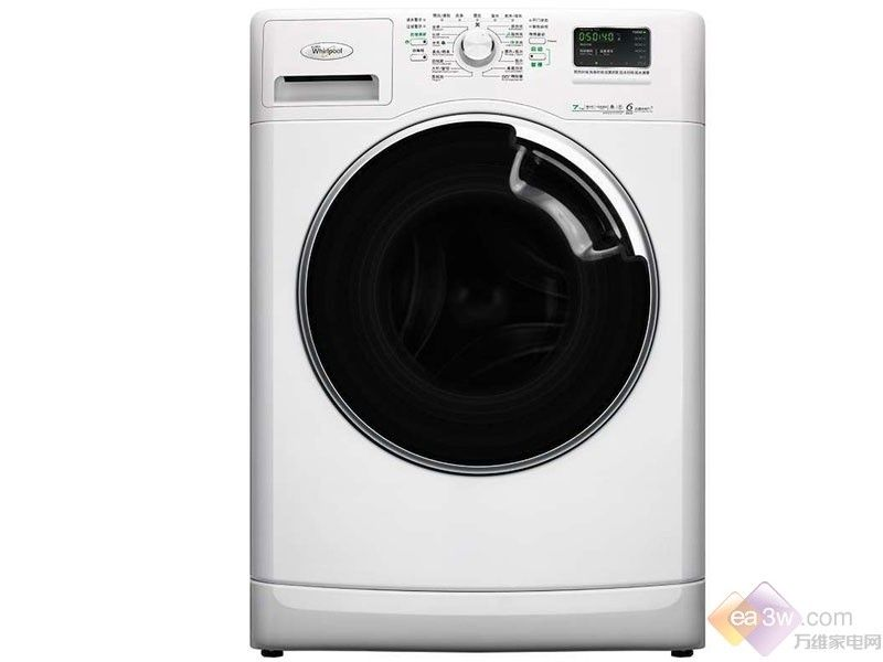 洁净生活 惠而浦滚筒式洗衣机时尚又实惠