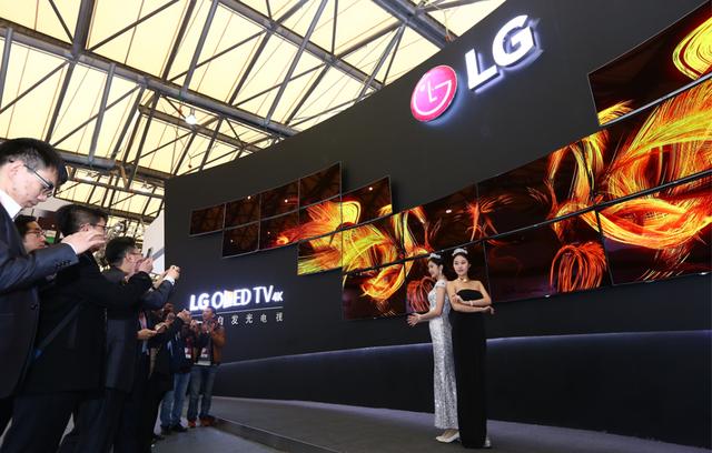 LG OLED电视引爆AWE,革新产品引