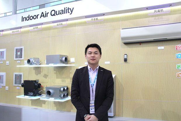 创新带来动力 专访松下环境系统有限公司中国营业本部章佳荣课长