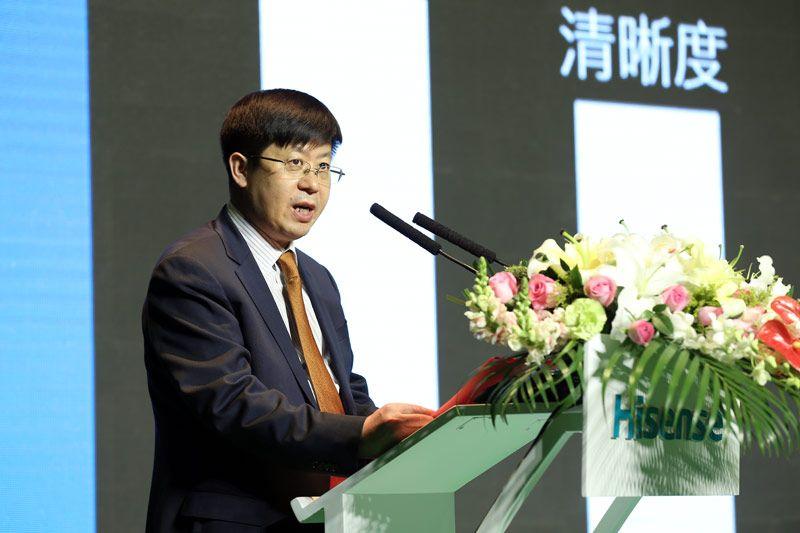 """刘洪新:高擎画质大旗征战欧洲杯 """"视界""""全掌握"""