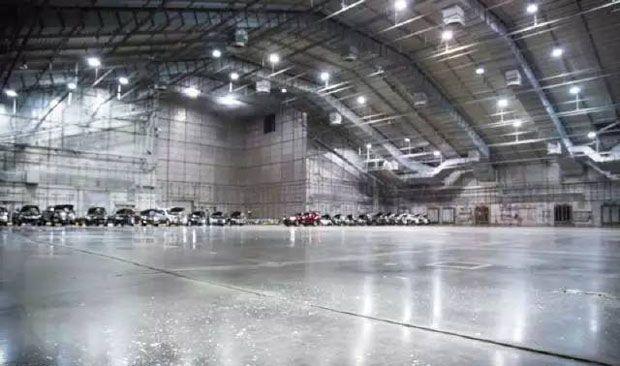"""全球最大""""冰箱""""曝光 美国F-22在此受测验"""