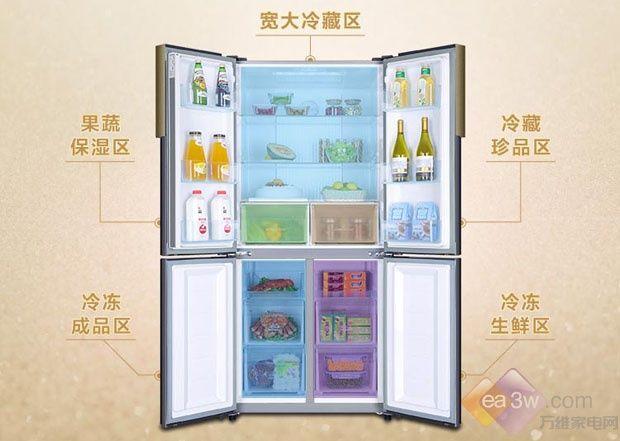 海尔(Haier)香槟金冰箱