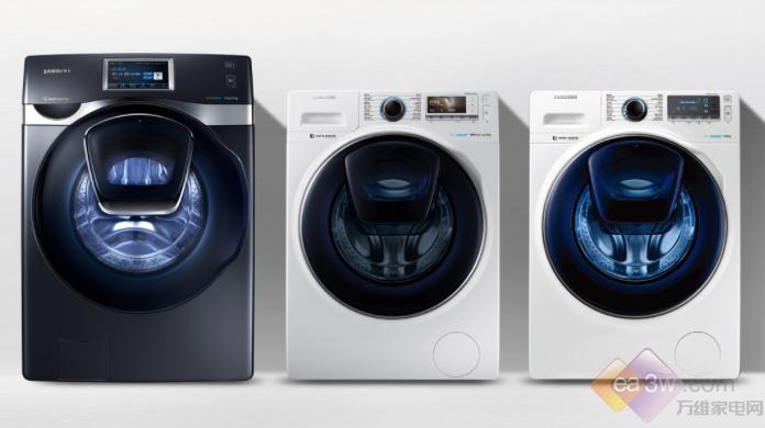 """三星叠窗蓝水晶系列洗衣机""""省心+节能"""""""