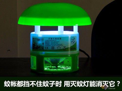 蚊帐都挡不住蚊子时 用灭蚊灯能消灭它?