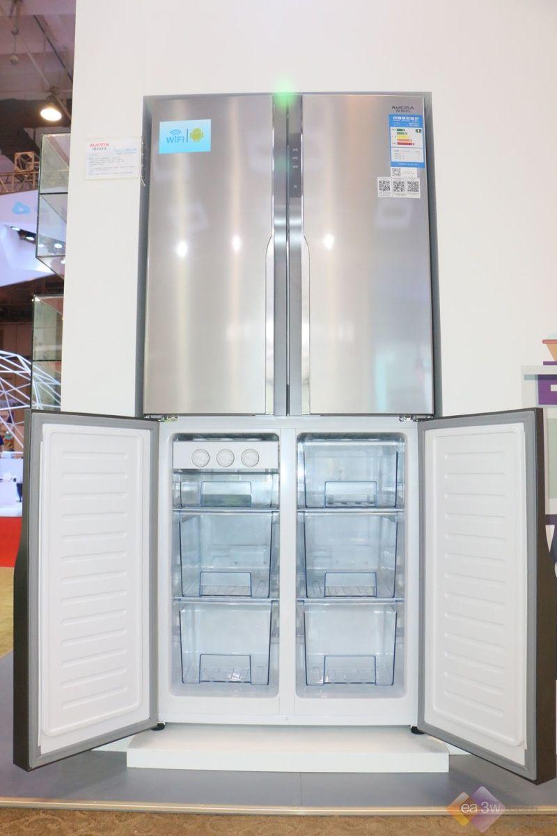 十字门智能触控 澳柯玛BCD-456FDG冰箱亮相SINOCES