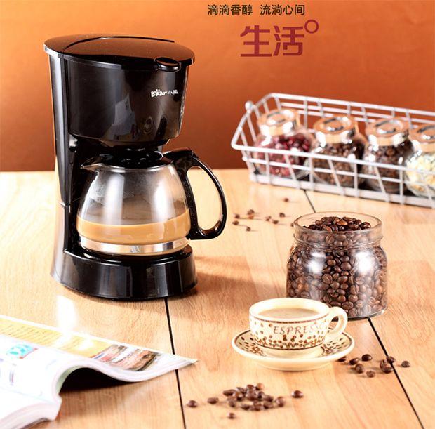 自制美味咖啡 小熊KFJ-403滴漏式咖啡机