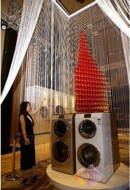 卡萨帝双子云裳洗衣机首登印度市场