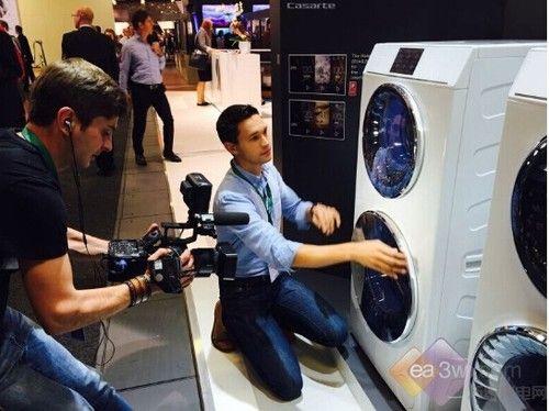 卡萨帝双子云裳进军俄罗斯高端洗衣机市场