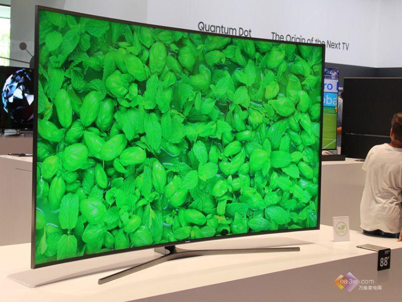重庆三星电视维修画质超高!三星IFA展全球最大量子点4K电视