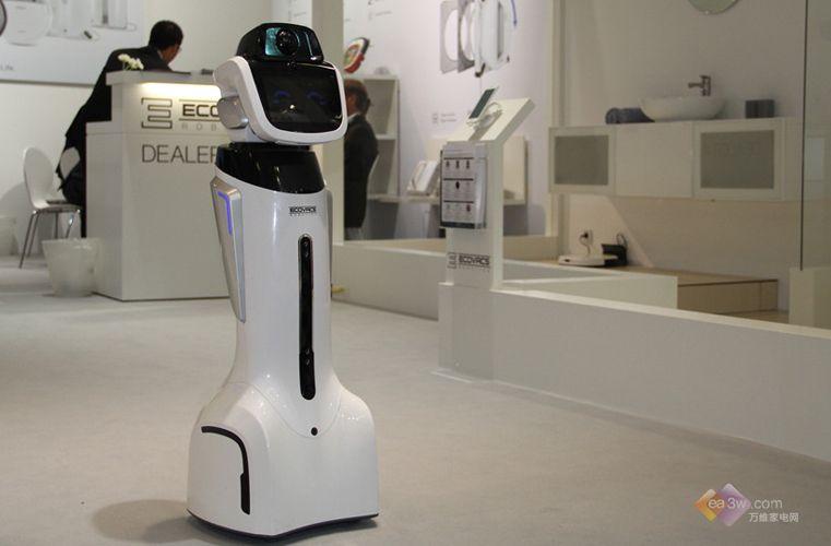 科沃斯智能機器人將物聯網和機器人終端相互融合,讓機器人能夠為大家圖片