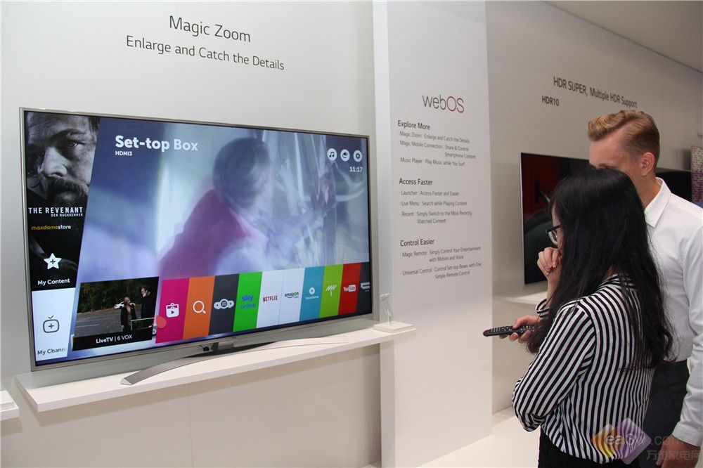 IFA2016新品汇:LG SUPER UHD超清电视体验