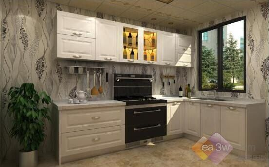 厨房在布局上也不断变化,设计正在逐渐改变吊柜和角柜等传统布局图片