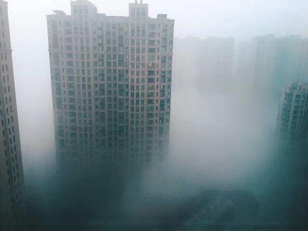 有毒物质达20多种 这就是雾霾的真面目