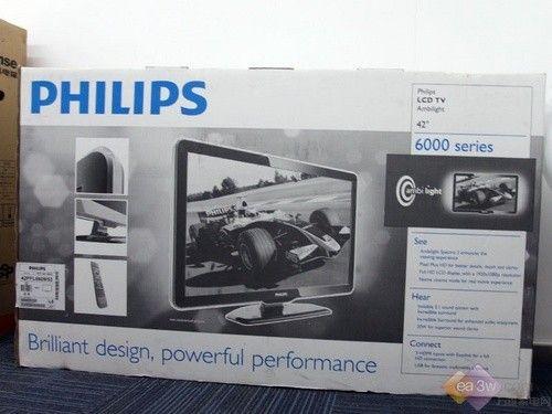飞利浦6000系列的包装箱(点小图看大图)高清图片