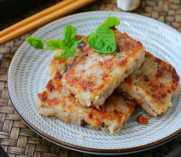 每日一道家常菜:广东萝卜糕