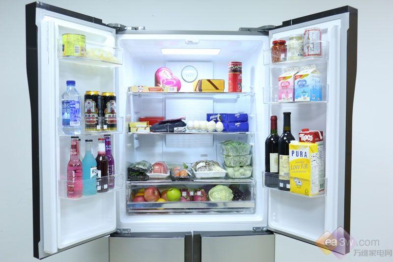 时尚十字对开门设计 美菱变频保鲜冰箱图赏