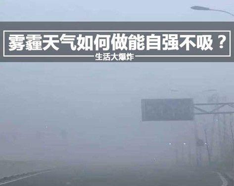 生活大爆炸:雾霾天气如何做能自强不吸?