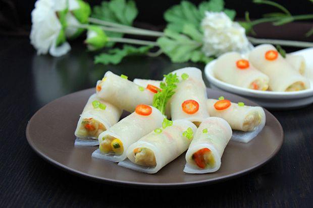 每日一道家常菜:三鲜萝卜卷