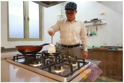 上海著名美食作家成海尔五头燃气灶首位用户