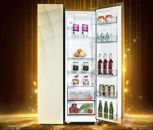 美的(Midea)对开门冰箱