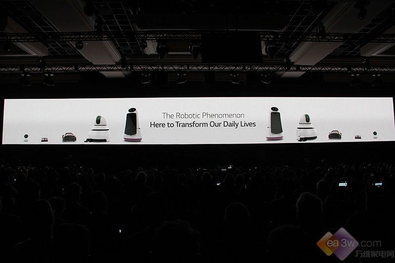 全新阵容!LG 智能机器人在CES2017首发亮相