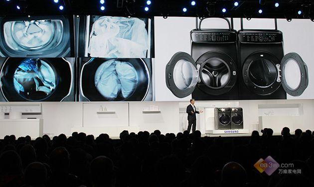 厉害了World哥!三星CES2017全新智能洗衣机