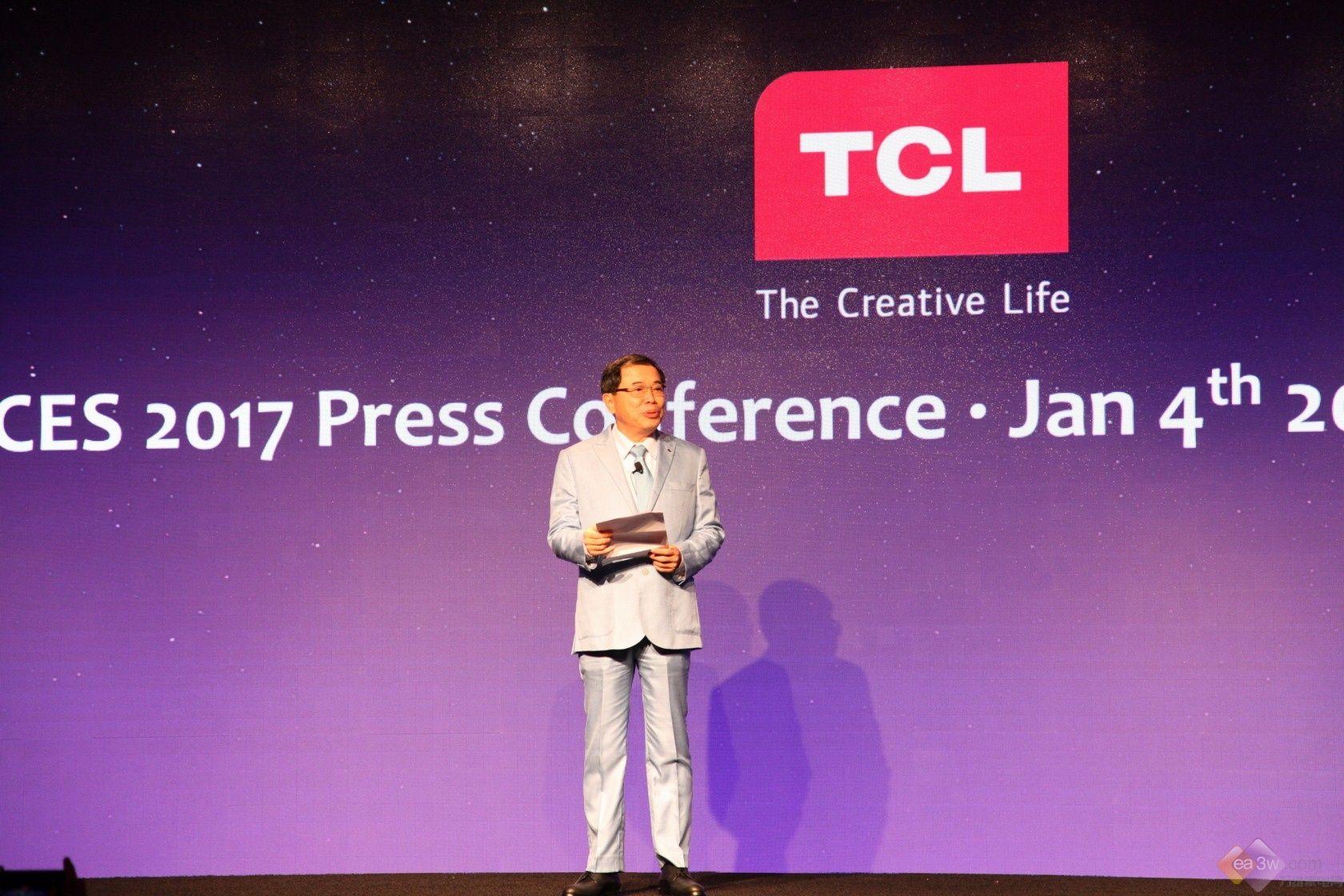 2017 CES:TCL全球新品发布会盛大召开,XE