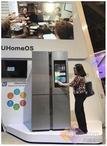 海尔CES展全球首个智慧家庭系统UHomeOS及