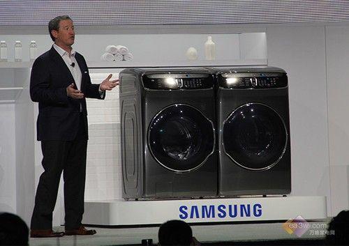 厉害了World哥!三星CES2017发全新智能洗衣机