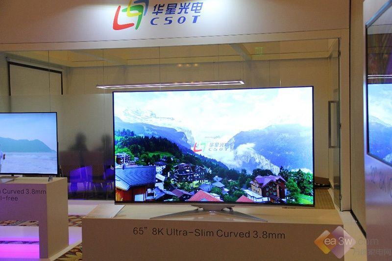 华星光电独立设展CES2017 上游核心技术抢眼