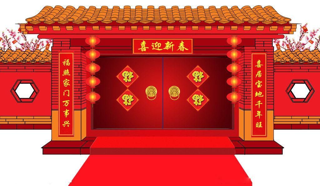 春节的传统习俗之贴春联