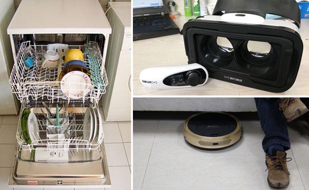 厉害了我的扫地机!不仅能扫地还能清洁冰箱